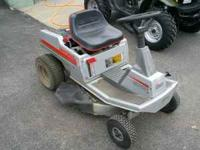 Used Sears Craftsman rear engine 10HP, 5 speed