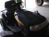 Craftsman LT 1000 Riding Lawnmower. One owner, call