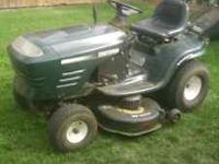 "19.5 hp Briggs and Stratton, Turbo-cooled. 42"" deck."