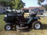 This Mower is in good shape. It has a 14.5 hp engine on