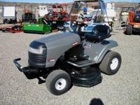 Craftsman Riding Lawn Mower. Model # LT 2000 Has a 42