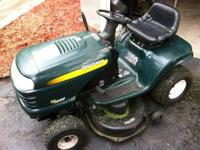 2002 Craftsman LT 1000 riding lawn mower. I just got it