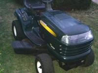 For Sale is a Craftmans LT1000 riding lawn mower, it is