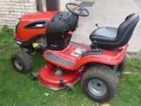 Craftsman Riding Lawn Mower - 21 HP Briggs & Stratton