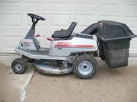 "I have for sale a Craftsman 10HP.Electric Start 30""cut"
