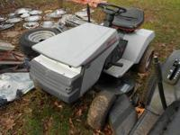 Craftsman riding mower runs and cuts but stalls. needs