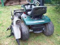 42 inch mower deck, good condition, needs motor, call