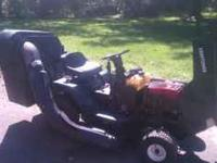38 in mower deck. With complete baging system. Body in