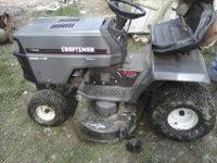 I am wanting to sell a Craftsman riding lawn mower. It