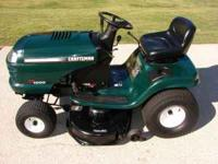 I have a Craftsman riding mower for sale. Its a 17 hp.