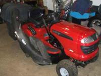 This is an 07 mower with a 20hp B&S motor and a 42in.
