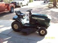 This is a 1999 craftsman mower its a 42'' cut mulching