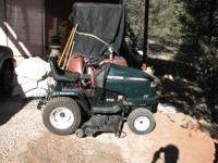 This hardly used Craftsman Riding lawnmower Is ready