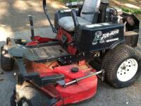 IT'S AN OLDER MOWER! BUT IT RUNS & MOWS GREAT! I JUST