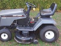 "USED CRAFTSMAN TRACTOR 14.5 KOHLER MOTOR 42"" CUT, WELL"