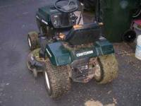 excellent craftsman riding mower, hydrostatic/automatic