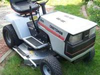 "I have a Craftsmen 12 HP ,38"" cut riding mower with a 6"