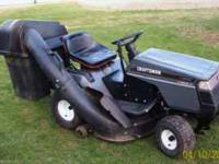 Craftsman riding mower 12.5 hp briggs, 42 in deck 5