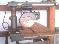 I HAVE A NICE TABLE SAW IT WORKS GREAT NO PLOBLEM WITH