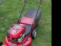 Have for sale a nice sears self propelled mower with