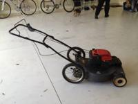craftsman self propelled mower dont know the Hp. its