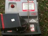 Craftsman snow blower, , Gas with electric start .Runs
