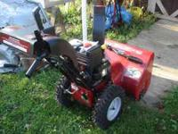 craftsman snowblower 7.75 hp 26 in cut 6 spd forward 2