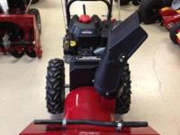Craftsman two stage snow blower , 8.5hp Briggs engine ,