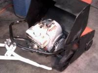 CRAFTSMAN SINGLE STAGE SNOWBLOWER , HAS TECUMSEH 3 H.P.