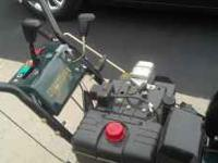 CRAFTSMAN SNOW BLOWER 4 YEARS NEW, AND IT REALLY IS
