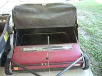 "I HAVE A CRAFTSMAN SWEEPER 42"" CHAIN DRIVE 8.5 TO 1 18"