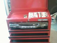 5 Drawer Craftsman Toolchest With Option To Buy Tools: