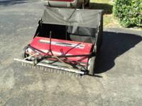"Craftsman 42"" High Performance lawnsweeper Model"