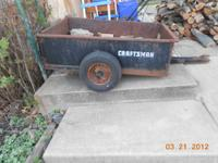 Craftsman Trailer $60.00 Call  Location: Moosic