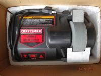 CRAFTSMAN UTILITY SHAPENER,.7amp WET/DRY. Like brand