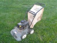 3 and a half horsepower craftsman vacuum / blower and