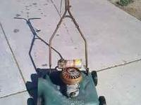 craftsman 2 cycle lawn mower runiing condition model