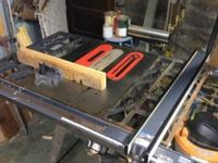 This Tablesaw is in working condition and is presently
