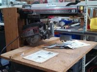 10 Craftsman Radial Saw $300.00 West Maple Habitat