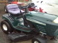 "CRAFTSMAN 19.5HP RIDING LAWN MOWER 2 CYLINDERS 42"" CUT"
