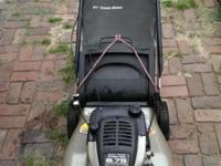 "Craftsman 21"" Mulcher Lawn Mower With Bag Front Drive"