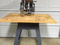 Craftsman 2.75 hp radial arm saw used but in very good
