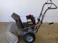 "I'm selling a 2 stage 5HP Craftsman 22"" snow blower"