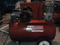 For Sale is a great running Sears 150 PSI Twin Cylinder