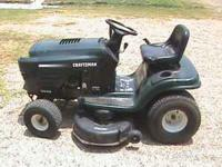 "Craftsman 16.0HP Electric Start 42"" Mower Automatic"