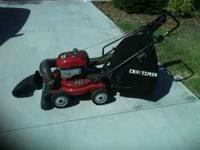 I have a Craftsman 6.5 hp 4-in-1 Plus System Lawn