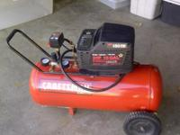 Craftsman Air Compressor- Model # 919.167240 Single