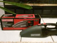 This hand vacuum has all of the attachments, and works
