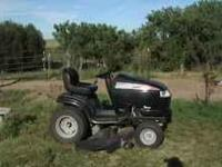 Craftsman garden tractor, 26 HP, only 150 hours of use,