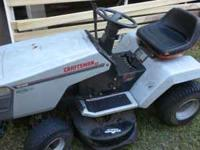 Up for sale is a fully tuned Craftsman garden tractor.